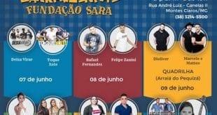 Montes Claros - Barraquinhas Fundação Sara