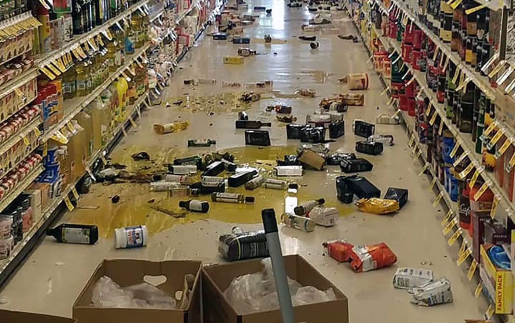 EUA - Terremoto atinge o sul da Califórnia