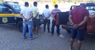 Montes Claros - 5 homens são presos por descaminho em Montes Claros