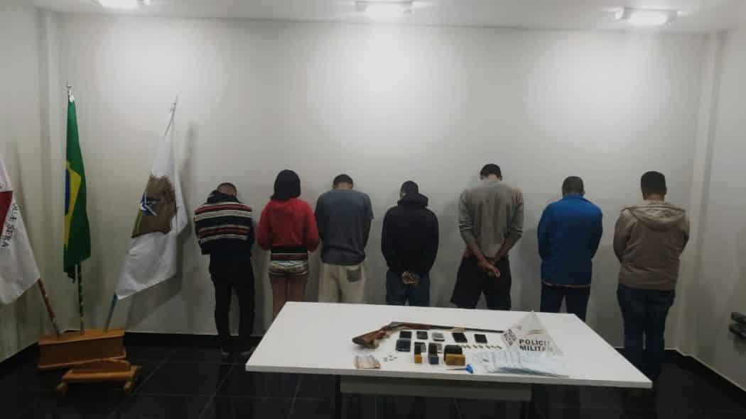 Norte de Minas - Integrantes de uma quadrilha especializada em furtos, falsificação de documentos, e estelionato é presa no Norte de Minas