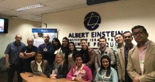 Norte de Minas - Profissionais do SAMU Macro Norte participam de curso no Hospital Albert Einstein