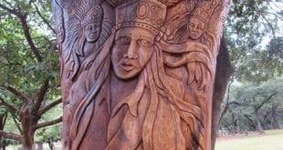 Montes Claros - Escultura em homenagem aos catopês será inaugurada na Praça Portugal