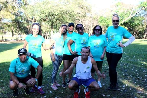 """Montes Claros - Em campanha, servidores do HUCF criam o grupo """"Corredores de Plantão"""" de incentivo ao esporte"""