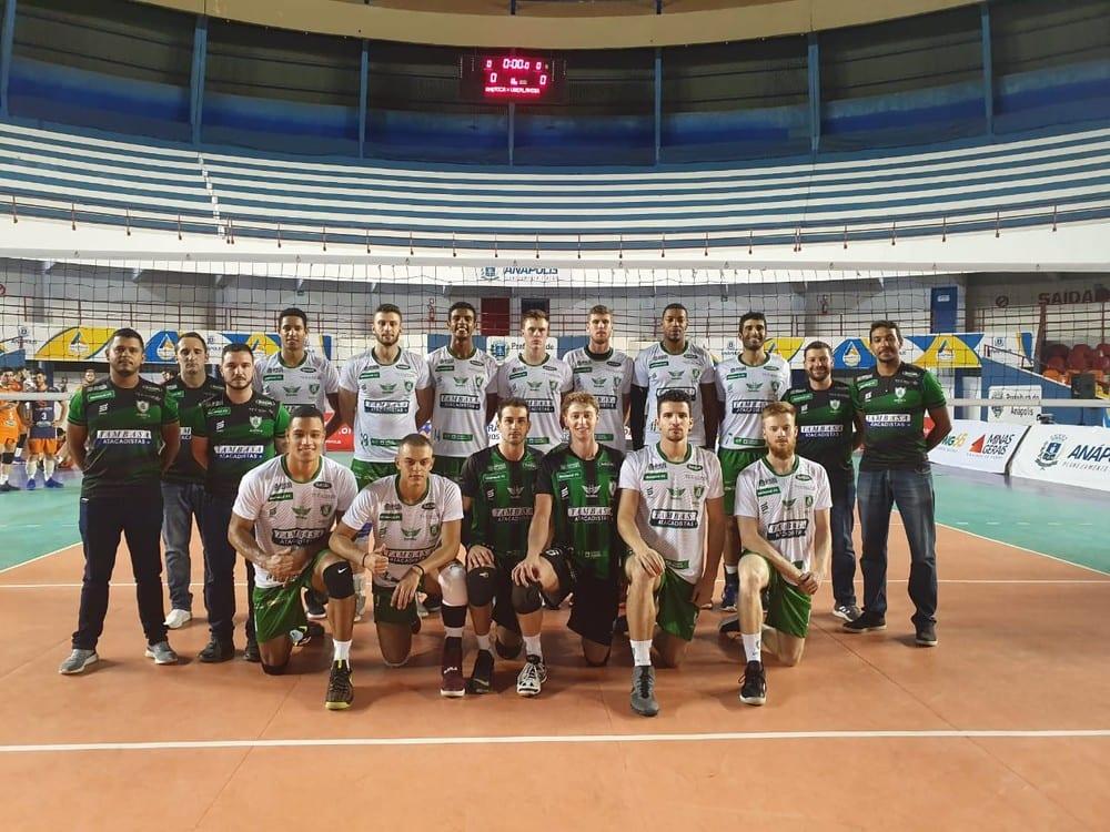 América Vôlei estreia com vitória sobre o Uberlândia no Campeonato Mineiro