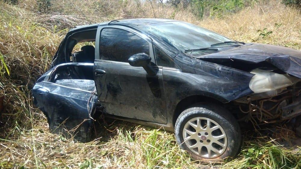 Norte de Minas - Ao menos nove ficam feridas em acidentes provocados por derramamento de óleo na BR-365