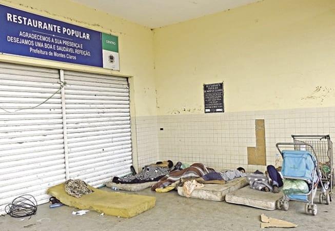 Montes Claros - Situação dos moradores de rua preocupa a Câmara Municipal de Montes Claros