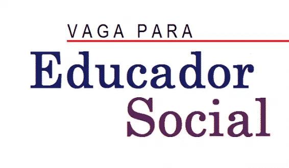 Vaga para trabalhar como Educador Social em Montes Claros