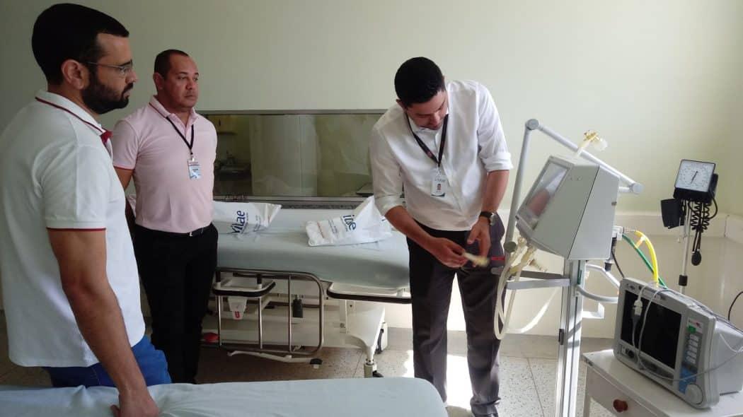 Norte de Minas - Hospital de Januária adequando as normas da vigilância com equipamentos novos