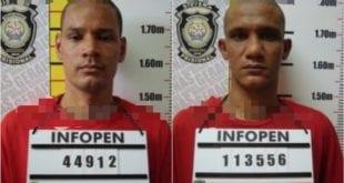 Norte de Minas - Dois presos que fugiram da penitenciária de segurança máxima de Francisco Sá são recapturados