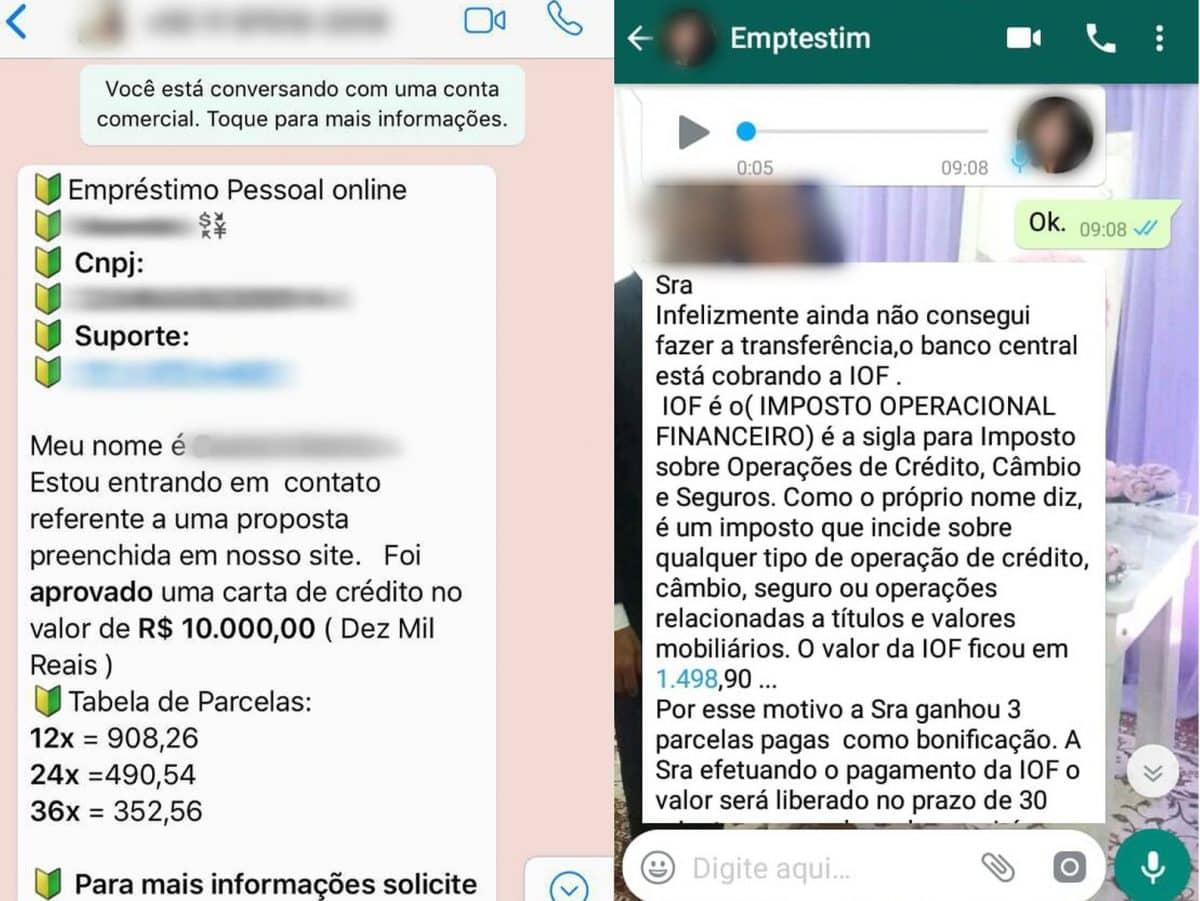 Golpe que oferece falso empréstimo pelo WhatsApp cresce quase 200%