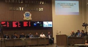 Montes Claros - Orçamento municipal para 2020 é tema de audiência na Câmara