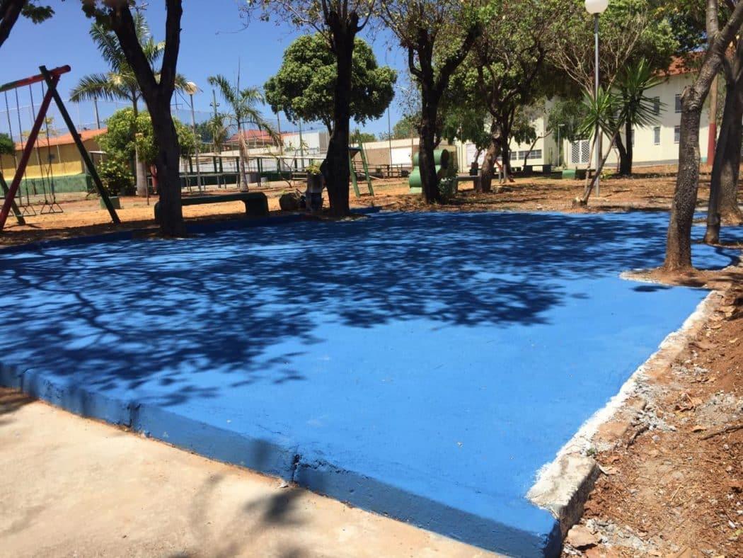Montes Claros - Prefeitura instala novas academias ao ar livre em Montes Claros