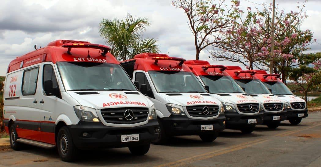 Norte de Minas - SAMU recebe novas ambulâncias