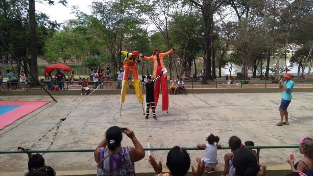 Montes Claros - Programação especial no Parque Municipal no Dia das Crianças