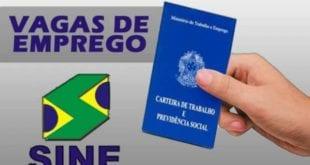 Montes Claros – Confira as vagas de emprego oferecidas pelo Sine / UAI de Montes Claros no dia de hoje (15/10)