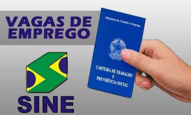 Montes Claros – Confira as vagas de emprego oferecidas pelo Sine / UAI de Montes Claros no dia de hoje (09/10)