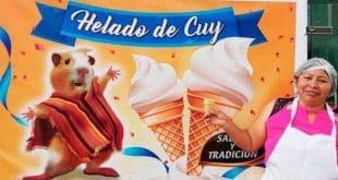 Sorvete de porquinho-da-índia é atração em sorveteria equatoriana