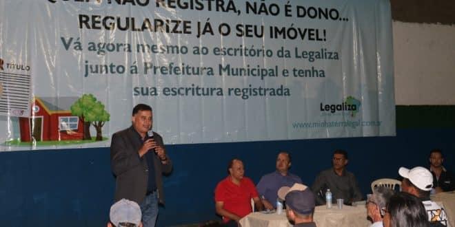 MG - Prefeitura de Nova Serrana inicia processo inédito de regularização fundiária