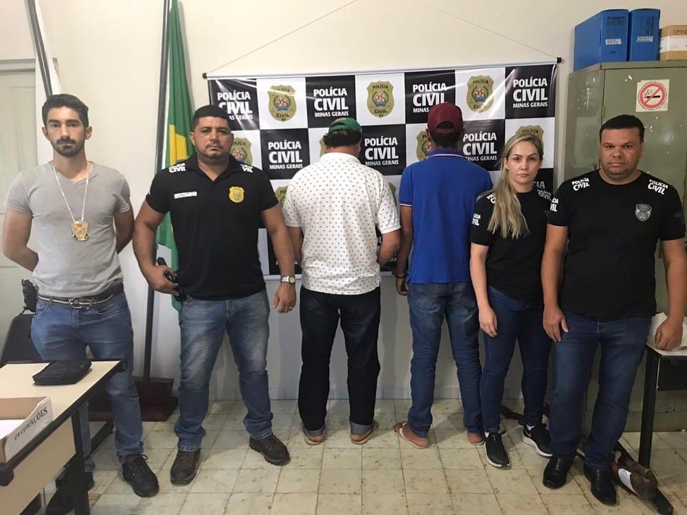 Norte de Minas - Dois homens são presos por assassinato em Taiobeiras