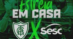 Superliga 2019/2020 de Vôlei começa já neste domingo para o América/Montes Claros