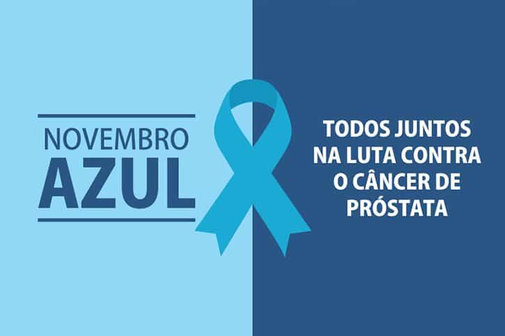 Novembro Azul chama a atenção para o cuidado do homem com a próstata e a saúde