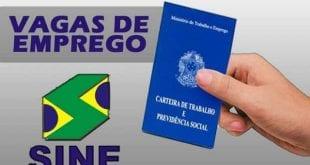 Montes Claros – Confira as vagas de emprego oferecidas pelo Sine de Montes Claros no dia de hoje (07/11)