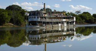 Norte de Minas - Ministério do Turismo e Secult assinam convênio para recuperação do vapor Benjamim Guimarães