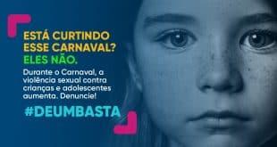 Durante o Carnaval, incidência de crimes sexuais envolvendo crianças e adolescentes aumenta em até 20%