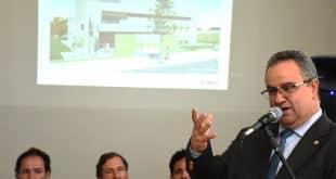 Presidente do TJMG, Nelson Missias de Morais, apresenta projeto do novo fórum de Francisco Sá