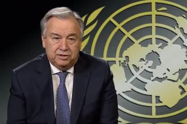 Secretário-geral da ONU, António Guterres (Foto: ONU/Reprodução )