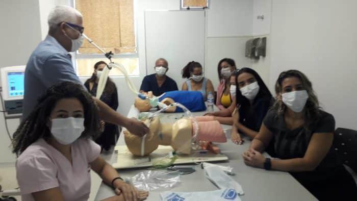 Montes Claros - Novos contratados no Hospital Universitário também passam por capacitações sobre a Covid-19
