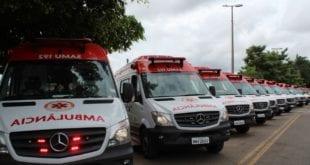 Norte de Minas - Parceria com Governo Federal renova 70% da rota do SAMU