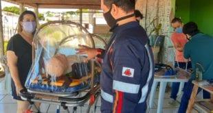 Norte de Minas - SAMU Macro Norte cria cápsula para transporte de pacientes com coronavírus