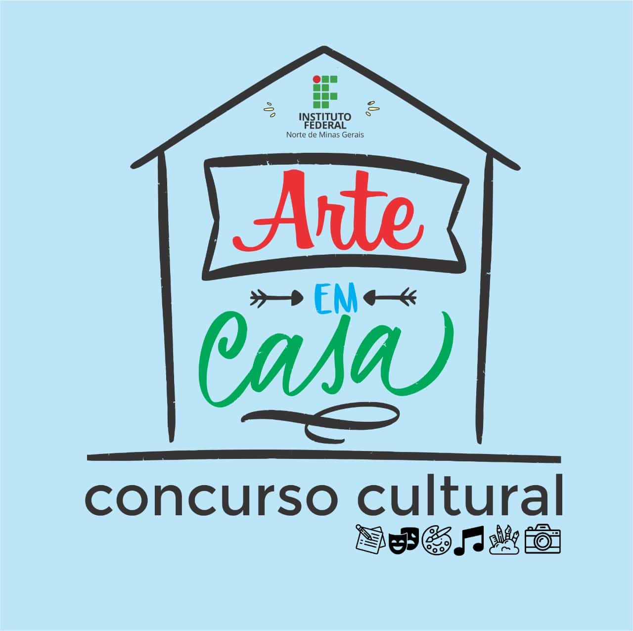 """Norte de Minas - Envie sua produção artística para o concurso cultural do IFNMG """"Arte em Casa"""" até 18 de maio"""