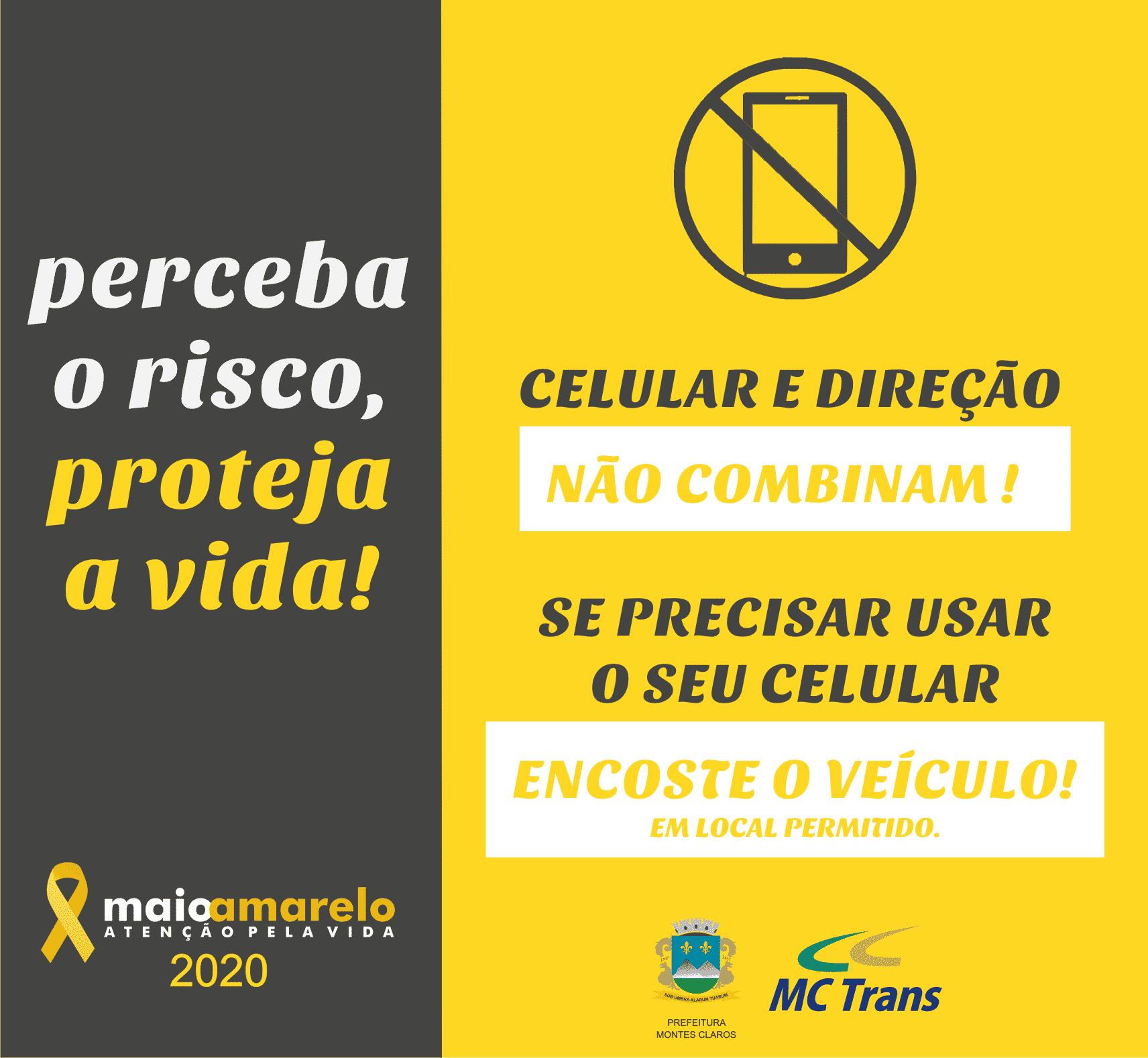 Montes Claros - MCTrans realiza campanha de conscientização sobre trânsito seguro