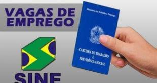 Sine têm 1,7 mil oportunidades de emprego em Minas