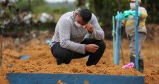 Mortes pelo coronavírus saltam de 6 mil para 29 mil em um mês no Brasil