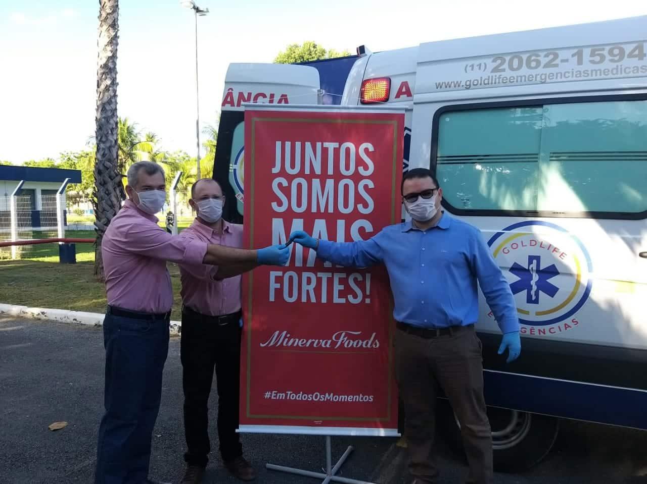 Norte de Minas - Minerva Foods estende aluguel de UTI Móvel até setembro e investe mais de R$ 100 mil em doações no município de Janaúba e região
