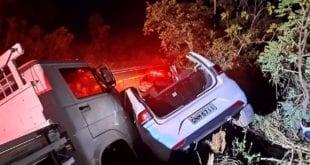 Norte de Minas - Duas pessoas ficam feridas em acidente na BR-135 no Norte de Minas