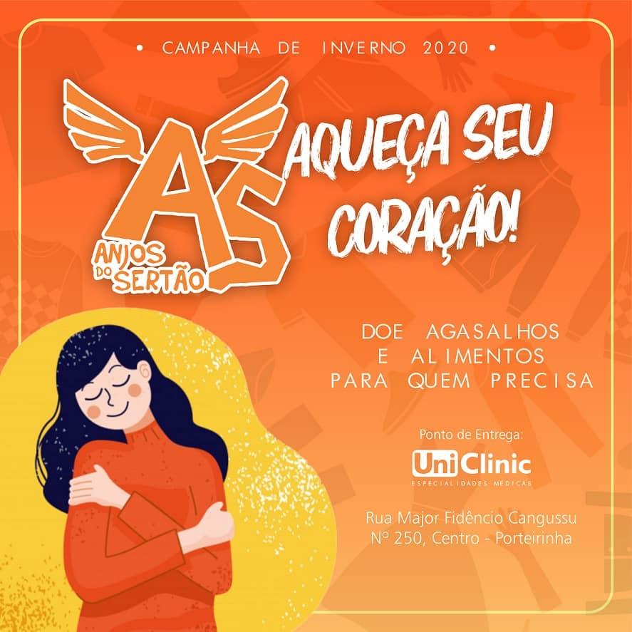Norte de Minas - ONG Anjos do Sertão promove Campanha do Agasalho