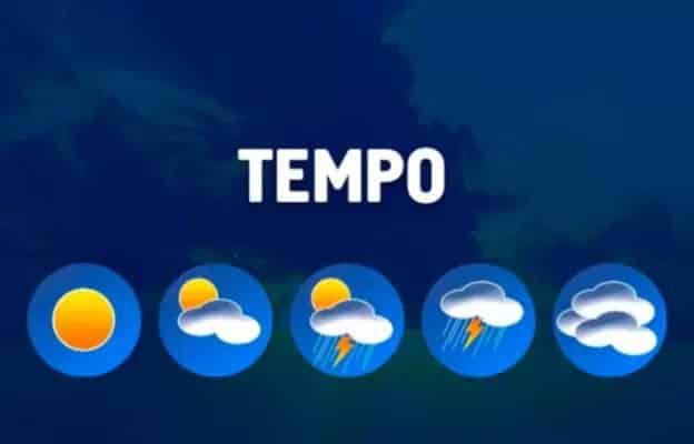 Sudeste do país tem tempo claro a parcialmente nublado, nesta segunda-feira (22)