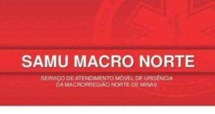 Montes Claros – Plantão SAMU 01/06/2020