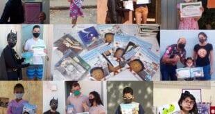 Montes Claros - Trilha da Leitura entrega kits de livros aos vencedores do concurso