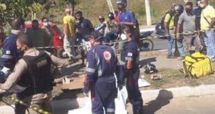 Montes Claros - Mulher morre após acidente de moto em Montes Claros