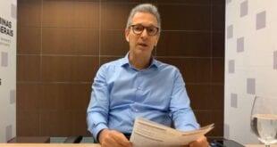 O governador de Minas, Romeu Zema (Novo), anunciou que abre, nesta quinta-feira (16), consulta pública para ouvir prefeitos sobre o Programa Minas Consciente