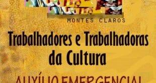 Montes Claros - LEI ALDIR BLANC ; Profissionais da área cultural já podem se cadastrar para receber o benefício