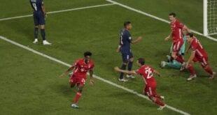 Coman, surpresa na escalação, fez gol do título alemão