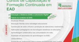 Norte de Minas - IFNMG abre inscrições para cursos de Capacitação e Formação Continuada sem processo seletivo