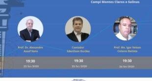 Montes Claros - Desafios e oportunidades em debate no I Seminário On-Line de Contabilidade