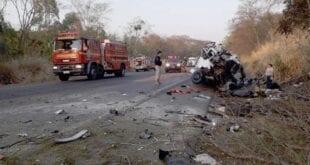 Norte de Minas - 12 pessoas de Januária morrem em acidente em Patos de Minas